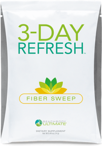 Soluble and insoluble fibers gently and naturally eliminates waste from your digestive system